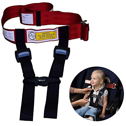 Child Airplane Safety Travel Harness - The Safety Restraint System Will Protect Your Child from Dangerous. Had Passed FAA Approved - Airplane Kid Travel Accessories for Aviation Travel Use