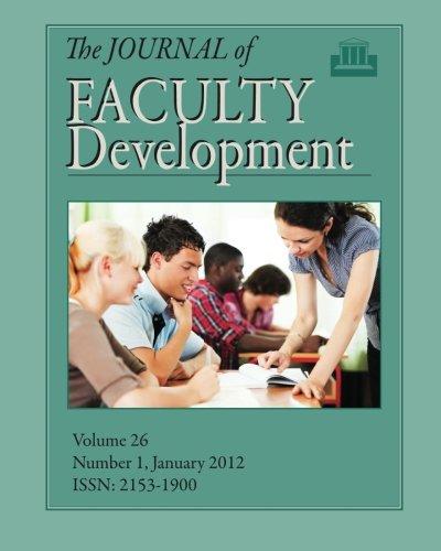 journal of faculty development - 2