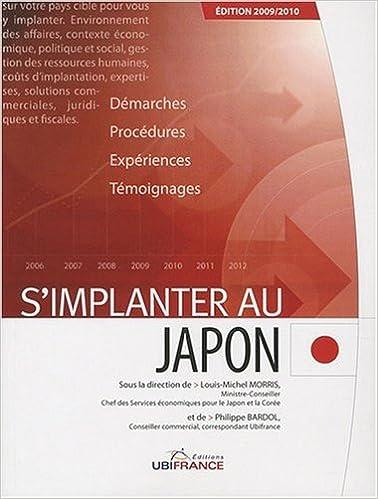 S'implanter au Japon pdf, epub