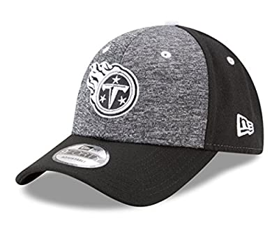 """Tennessee Titans New Era 9Forty NFL """"League Shadow 2"""" Adjustable Hat - Black"""