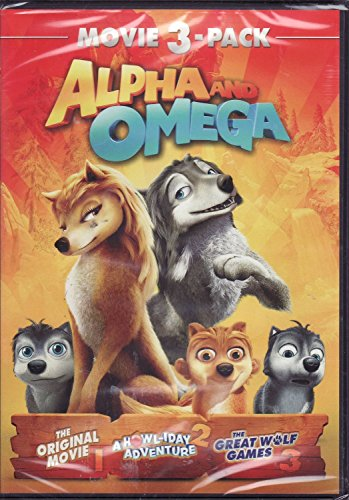 Alpha and Omega Movie 3 Pack (1 The Original Movie / 2 A Howl-iday Adventure / 3 The Great Wolf Games)
