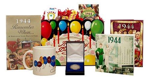 70th Birthday Gift Basket