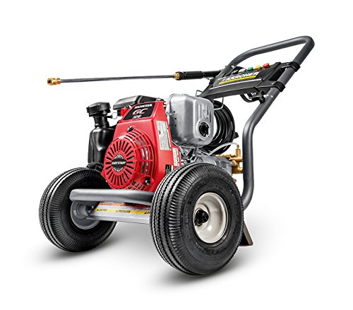 Karcher G 3000 OH Gas Power Pressure Washer, Honda Engine GC190 Performance Series, 3000 PSI, 2.5 GPM (Pressure Cleaner Honda compare prices)