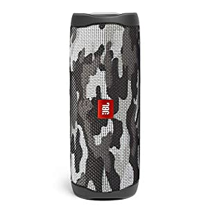 JBL Flip 5 by Harman Bluetooth Speaker with Upto 12 Hours Playtime, IPX7 Waterproof & PartyBoost (Without Mic, Camo)