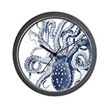 CafePress – Blue Octopus – Unique Decorative 10″ Wall Clock Review