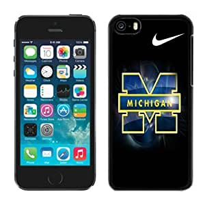 Customized Iphone 5c Case Ncaa Big Ten Conference Michigan Wolverines 24