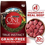 Purina ONE Grain Free Natural Dry Dog Food, SmartBlend True Instinct With Real Beef - 25 lb. Bag