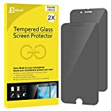 iPhone 6s Screen Protector, JETech 2-Pack Premium Privacy Anti-Spy Tempered Glass Screen Protector for Apple iPhone 6 and iPhone 6s 4.7