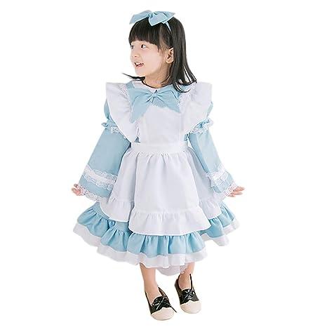 acc4e5769c64f ハロウィン コスプレ 衣装 子供 メイド服 ドレス 変身 子供用 ワンピース コスチュームセット ワンピース
