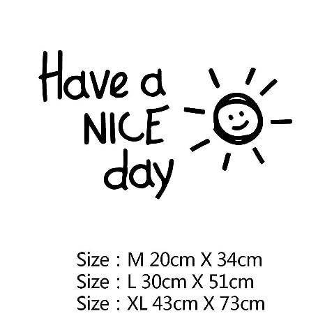 Lovely Sunshine Tiene Una Bonita Frase De Día Vinilo