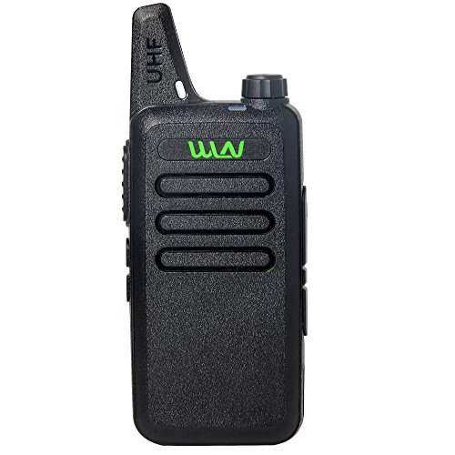 UHF 400-470 MHz MINI-handheld WLN KD-C1 Walkie Talkie Transceiver Radio (Mini Fm Scanner Radio)
