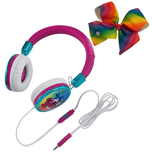 JoJo Siwa Bow Fashion Headphones with built in Microphone by eKids (Image #4)