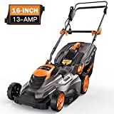 TACKLIFE Lawn Mower, 16-Inch 13-Amp Electric Lawn