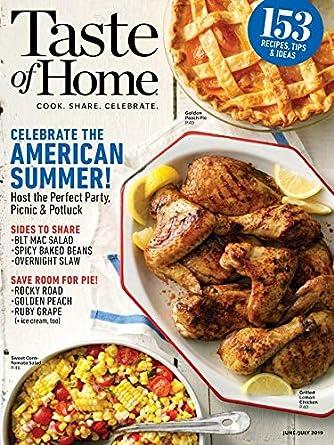 Taste Of Home Amazon Com Magazines