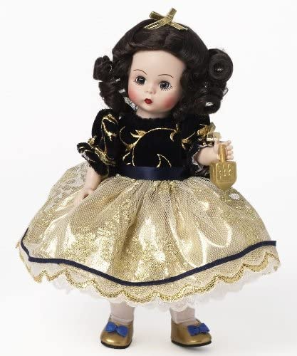 Gold Flat Shoes by Madame Alexander for 8/'/' Dolls
