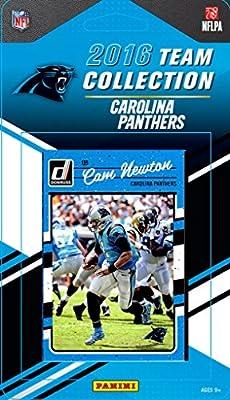Carolina Panthers 2016 Donruss Factory Sealed Team Set with Cam Newton, Kevin Greene, Luke Kuechly, Vernon Butler Rookie plus