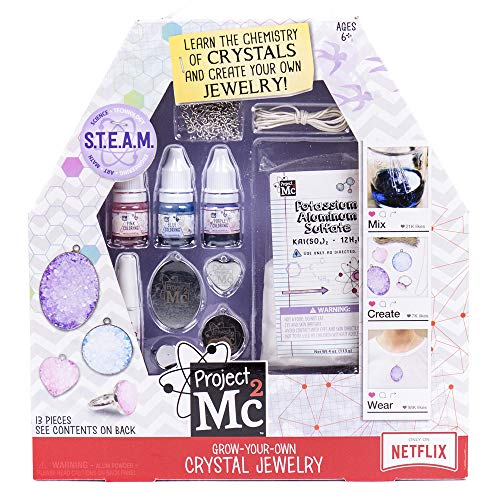 MC2 Grow-Your-Own Crystal Jewelry by Horizon Group USA