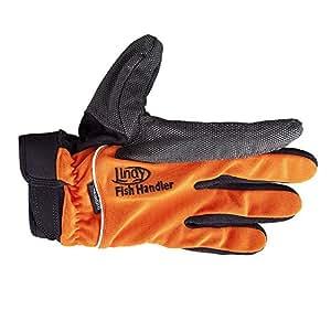 Lindy Fish Handling Glove (Small/Medium, Yellow, Left-hand)
