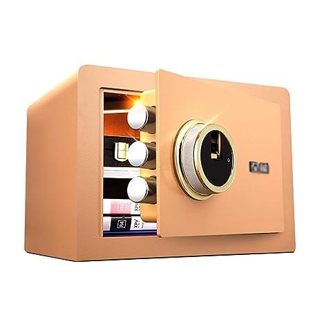 Cajas fuertes Caja fuerte de seguridad segura de seguridad contra huellas dactilares de acero pequeño hogar