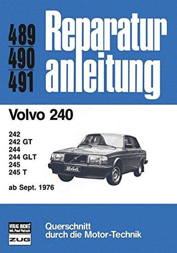 Volvo 240 ab 09/1976 (Reparaturanleitungen)