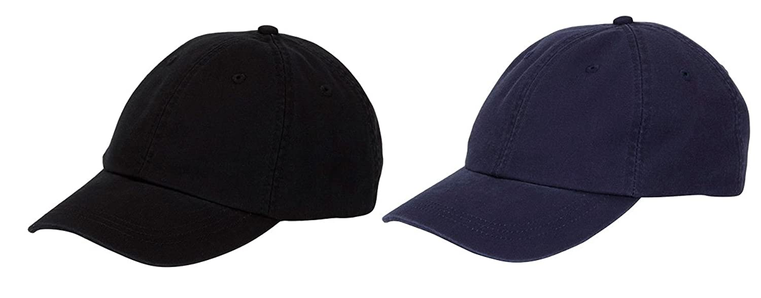 Adams Cool-Crown Mesh Lining Unstructured Caps Set_Black / Navy_OS at Amazon Mens Clothing store: