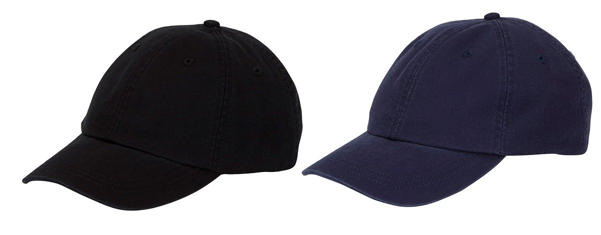 Adams Cool-Crown Mesh Lining Unstructured Caps Set_Black / Navy_OS