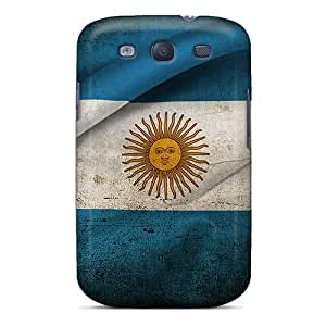 Protective Tpu Case With Fashion Design For Galaxy S3 (argentina Flag)