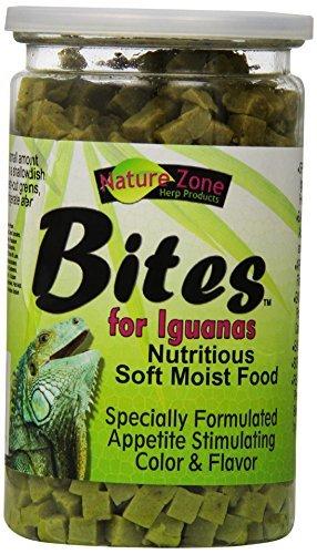 Iguana Bites (Nature Zone SNZ54631 Iguana Bites Soft Moist Food, 9-Ounce by Nature Zone)