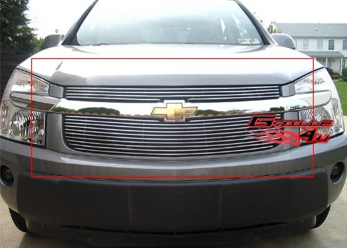 Chevrolet Equinox Grille Insert - APS Fits 2005-2009 Chevy Equinox Main Upper Billet Grille Insert #C65734A