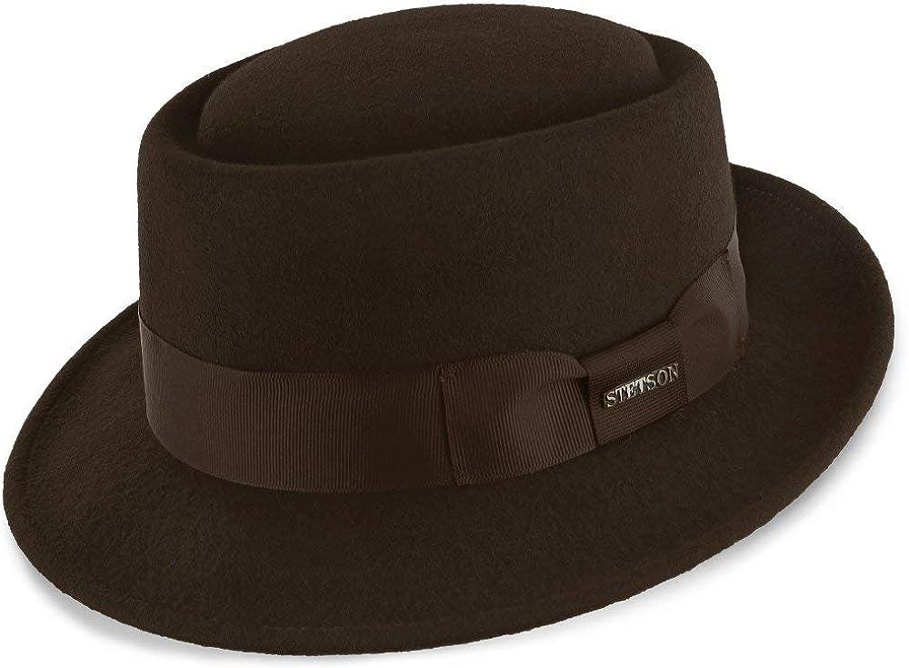 Stetson Cranston Wool Felt Porkpie Hat