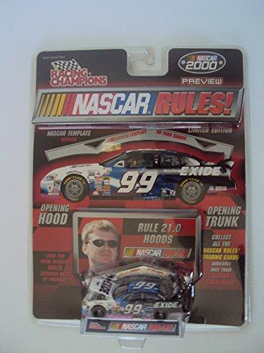 Racing Champions Premier Series 1:64 Scale Die Cast NASCAR Replica Preview,Jeff Burton #99 Covered Exide Car ()