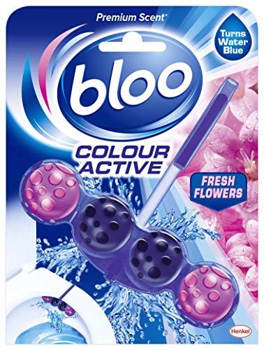 Bloo - Colour Active, Fresh Flowers - Toilet Rim Block, 50 g