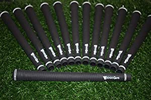 Wedge Guys Pro Velvet Golf Grips – Set of 13 Rubber Compound Blend All-Weather Performance Golf Club Grips Replacement for Custom Regripping of Clubs Wedges Drivers Irons Hybrids M60 Black from Wedge Guys
