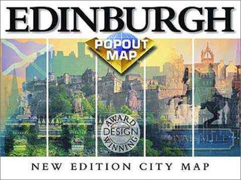 Edinburgh-Glasgow Popout Map: Double Map : Special Edition (Europe Popout Maps)