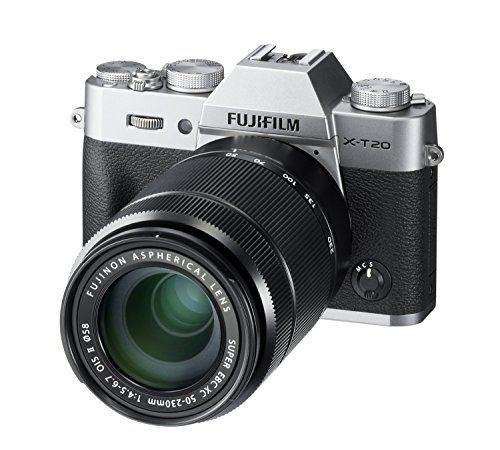 Fujifilm X Series X-T20 Mirrorless Digital Camera (Silver) 5