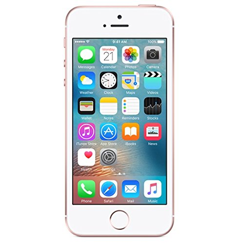 Apple iPhone SE 16GB, Rose Gold - Carrier Locked - Retail Packaging (Sprint Prepaid)