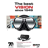 Mares 70th Year Anniversary X-Vision Mask Black