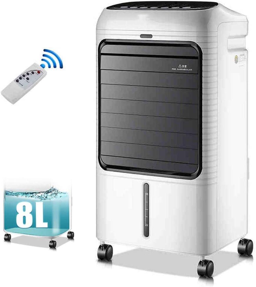 Ventilador De Refrigeración Inicio De Aire Acondicionado Ventilador Sala De Estar Dormitorio Con Aire Acondicionado Ventilador Inicio Frigorífico 8L Gran Tanque De Agua 3 Velocidades