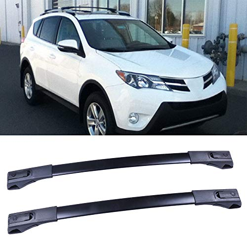 OCPTY Roof Rack Cross Bar Cargo Carrier Fit for 2013-2016 Toyota RAV4 Sport Utility 4-Door 2.5L Roof Rack Crossbars