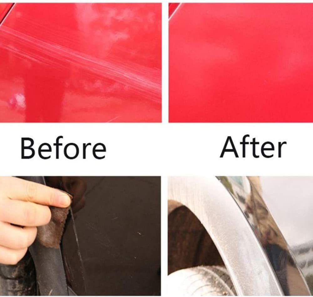 WXAN Car Scratch Repair Cloth Nano Surface Rags Light Paint Scratches Remover Care,Say Goodbye to Grinding Scratch Terminator This Cloth can Repair Scratch,has polishing Function