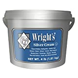 Wright's Silver Cleaner and Polish Cream - 4 Pounds - Gently Clean and Remove Tarnish Without Scratching