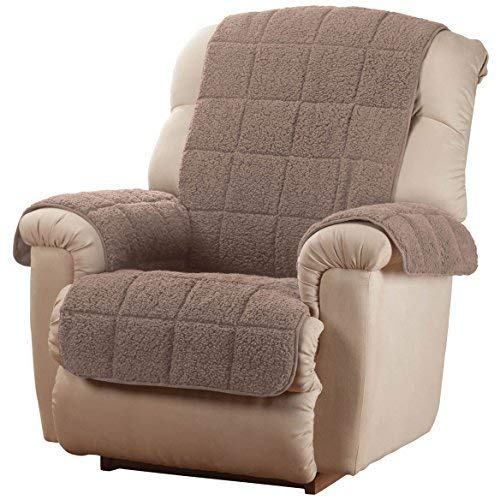 OakRidge Comforts Waterproof Quilted Sherpa Recliner Cover, ()