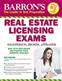 img - for Barron's Real Estate Licensing Exams: Salesperson, Broker, Appraiser by J. Bruce Lindeman Ph.D. (2010-05-01) book / textbook / text book