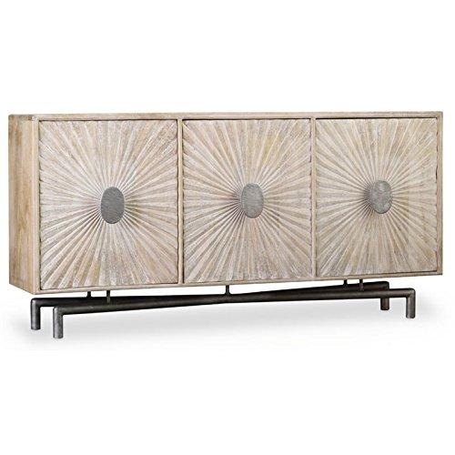 "Hooker Furniture 68"" TV Stand in Light Wood from Hooker Furniture"