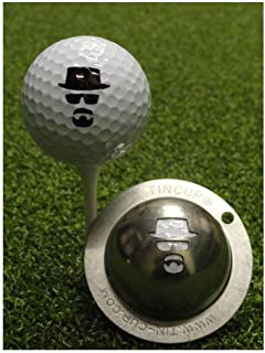 product image for Tin Cup Golf Ball Custom Marker Tool - Incognito (Heisenberg)