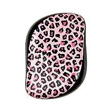 Tangle Teezer Compact Styler On-The-Go Detangling Hair Brush, Pink Kitty
