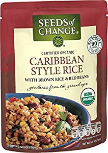 SEEDS OF CHANGE Organic Caribbean Style Rice (12pk)