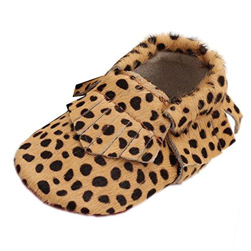 Leap FrogMoccasins Boots - Mocasines bota para niño Leopard E