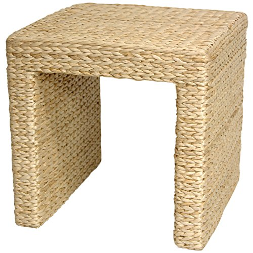 Oriental Furniture Rush Grass End Table - Natural