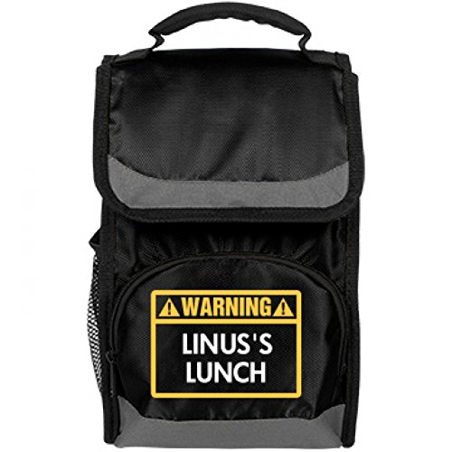 Funny Warning Linus's Lunch Bag: Port Authority Flap Lunch Cooler Bag (Linus Org compare prices)